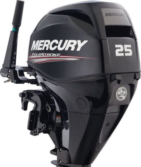 Mercury Fourstroke 2.5 - 25 HP Outboards